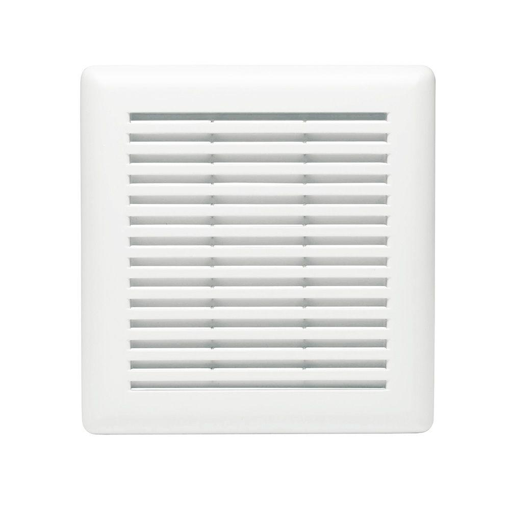 Replacement Grille for 695 and 696N Bath Exhaust Fan. Parts   Accessories   Bathroom Exhaust Fans   The Home Depot