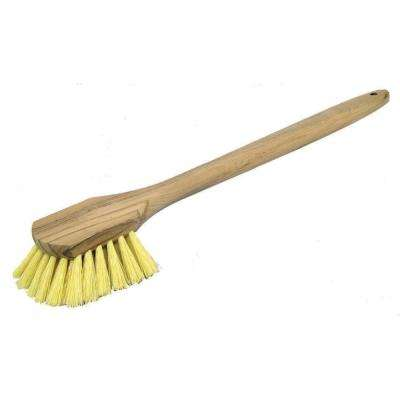 20 in. x 5 in. Long Handle Acid Brush with Plastic Bristles