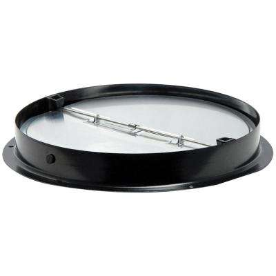 7 in. Round Collar with Aluminum Damper