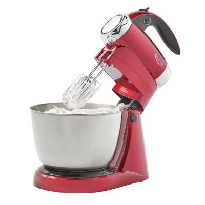 3 Qt. 7-Speed Red Stand Mixer