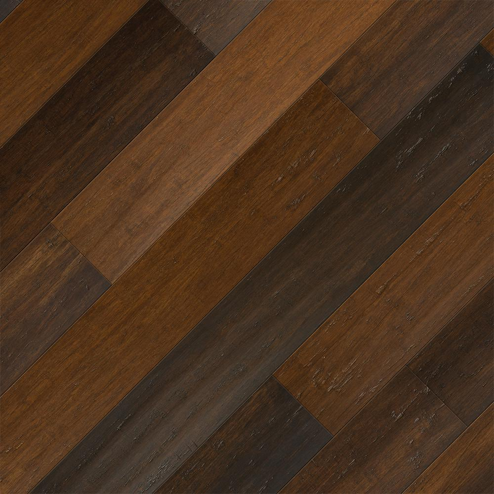 Home Legend Take Home Sample - Strand Woven Charleston Click Lock SPC WR Bamboo Flooring - 5 in. x 7 in.