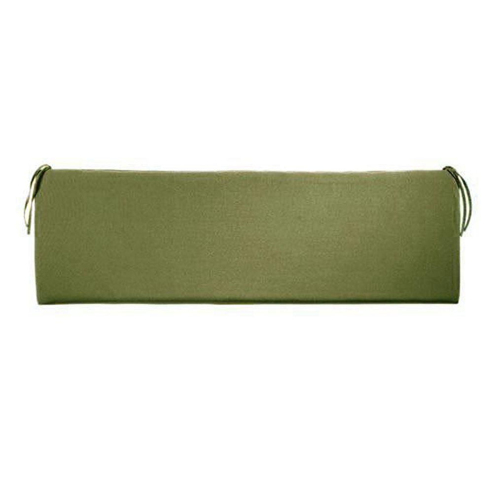 Home Decorators Collection Sunbrella Cilantro Outdoor Bench Cushion 1573850600 The Home Depot