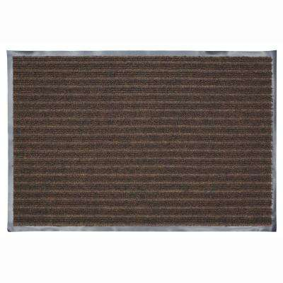 24 in. x 36 in. Chocolate Commercial Door Mat