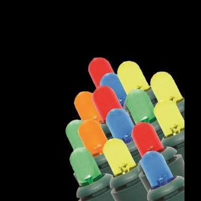 200-Light LED Multi-Colored Dome Light String