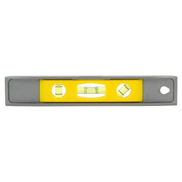 9 in. Magnetic Cast Aluminum Torpedo Level