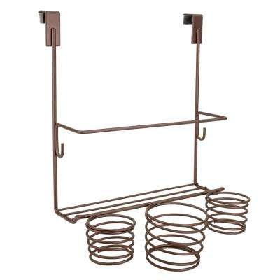 12 in. W. Over the Cabinet Hair Tool Organizer