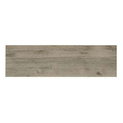 Listello Ara Grigio 7 in. x 24 in. Porcelain Floor and Wall Tile (19.38 sq. ft. / case)