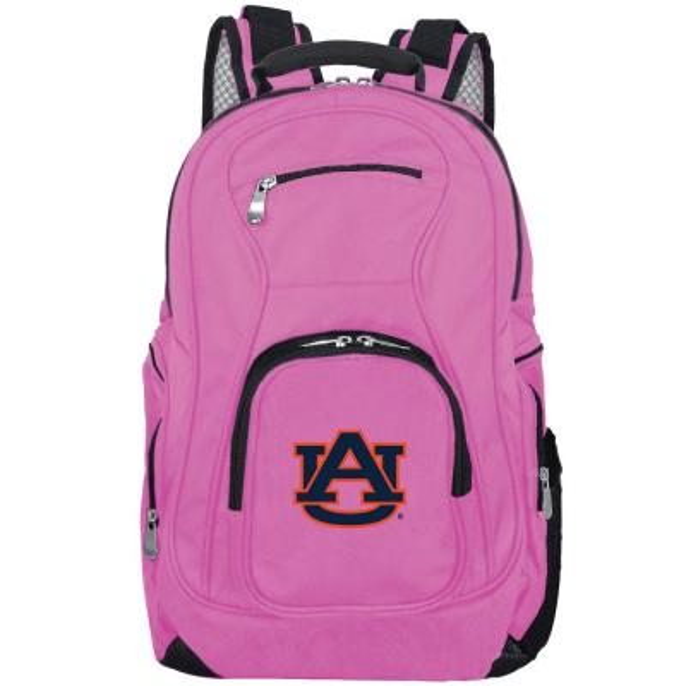 NCAA Auburn Tigers 19 in. Pink Laptop Backpack