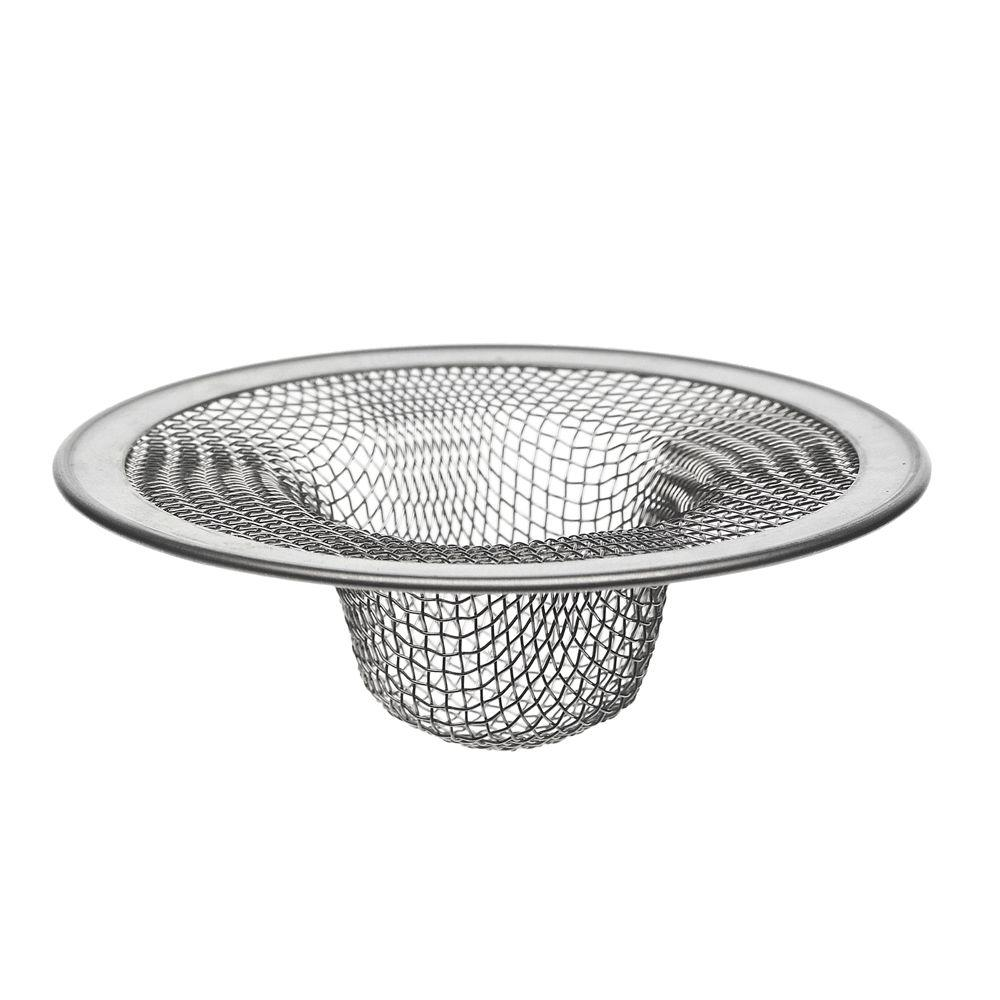 Danco Hair Catcher Bathroom Tub Strainer: DANCO 2-3/4 In. Mesh Tub Strainer In Stainless Steel-88821