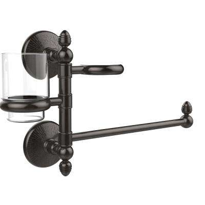 Monte Carlo Collection Hair Dryer Holder and Organizer in Oil Rubbed Bronze
