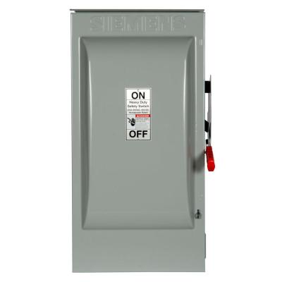 Heavy Duty 200 Amp 600-Volt 3-Pole Outdoor Non-Fusible Safety Switch