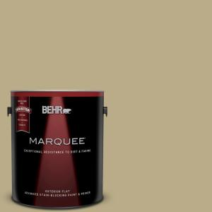 1-gal. #S330-4 Fennell Seed Flat Exterior Paint