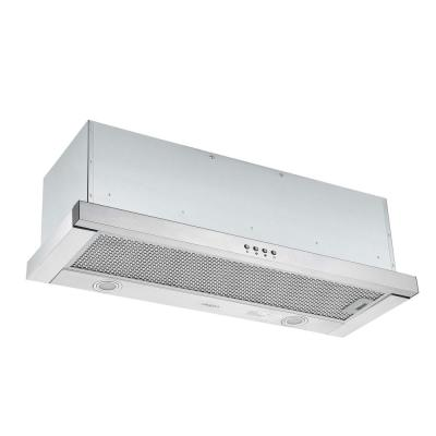 Forte 436 36 in. 425 CFM Ducted Built-In Range Hood with LED in Stainless Steel