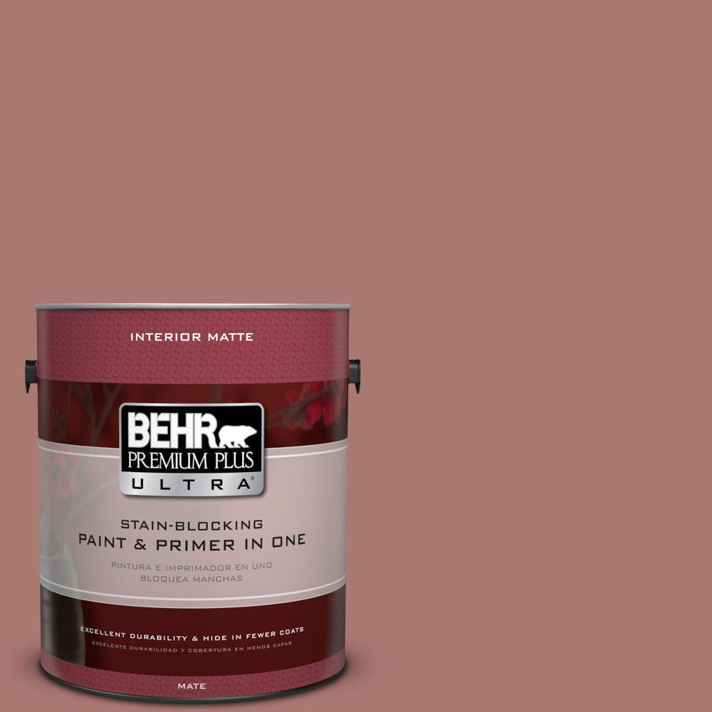 1 gal. #160F-5 Rum Spice Flat/Matte Interior Paint