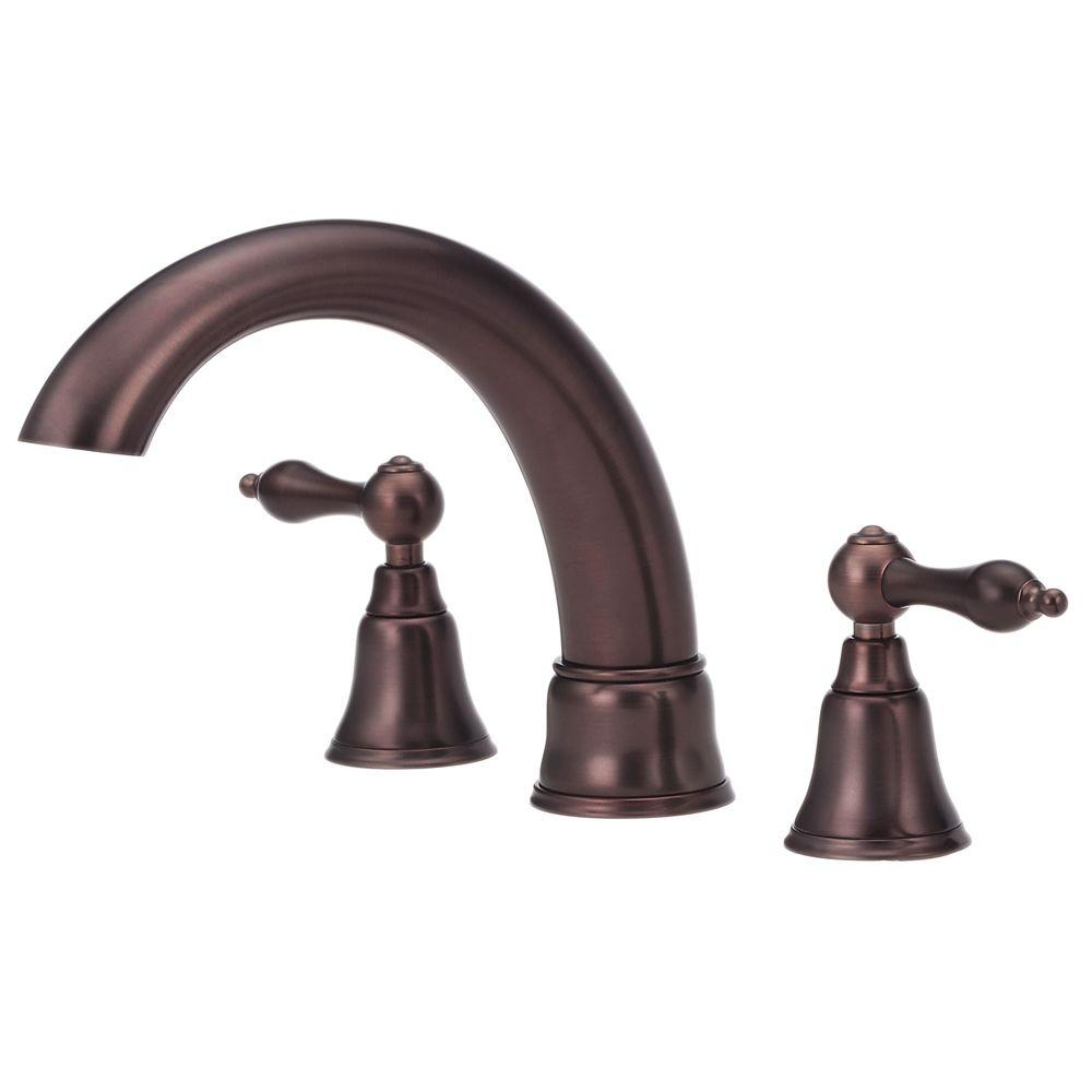 Danze Fairmont Roman Tub Trim Only In Oil Rubbed Bronze Valve Not Included D308840rbt The