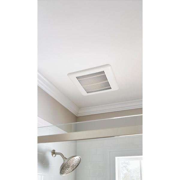 Hampton Bay 110 Cfm Ceiling Mount Roomside Installation Quick Connect Bathroom Exhaust Fan Energy Star Bpt18 34a 5 The Home Depot