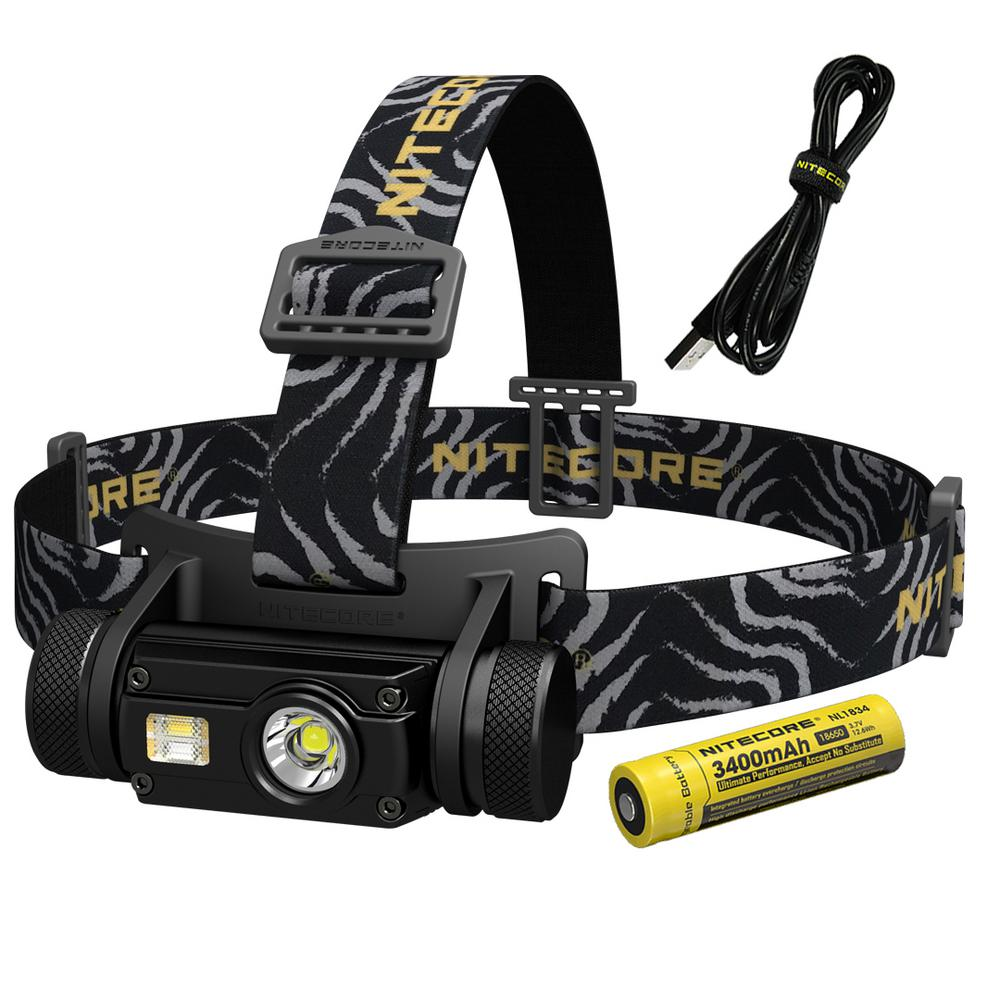 Hc Series Hc65 1000 Lumens Led Rechargeable Headlamp With Red Light And Reading