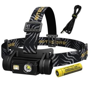 NITECORE HC Series HC65 1000 Lumens LED Rechargeable Headlamp with Red Light and... by NITECORE