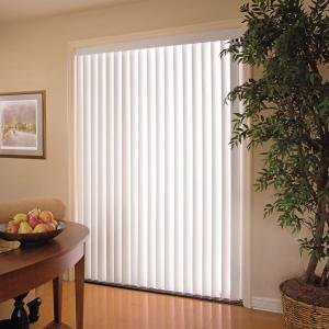 Hampton Bay White Vertical Blind Head Rail For Sliding Door Or Window 104 In W 10793478808571 The Home Depot