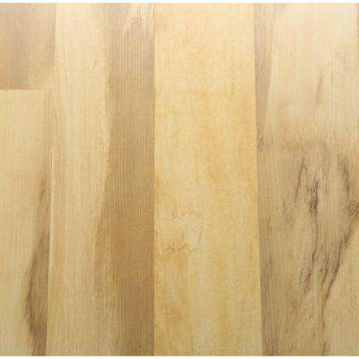 Toasted Spalted Maple 8 mm Thick x 8-1/8 in. Wide x 47-5/8 in. Length Laminate Flooring (21.36 sq. ft. / case)