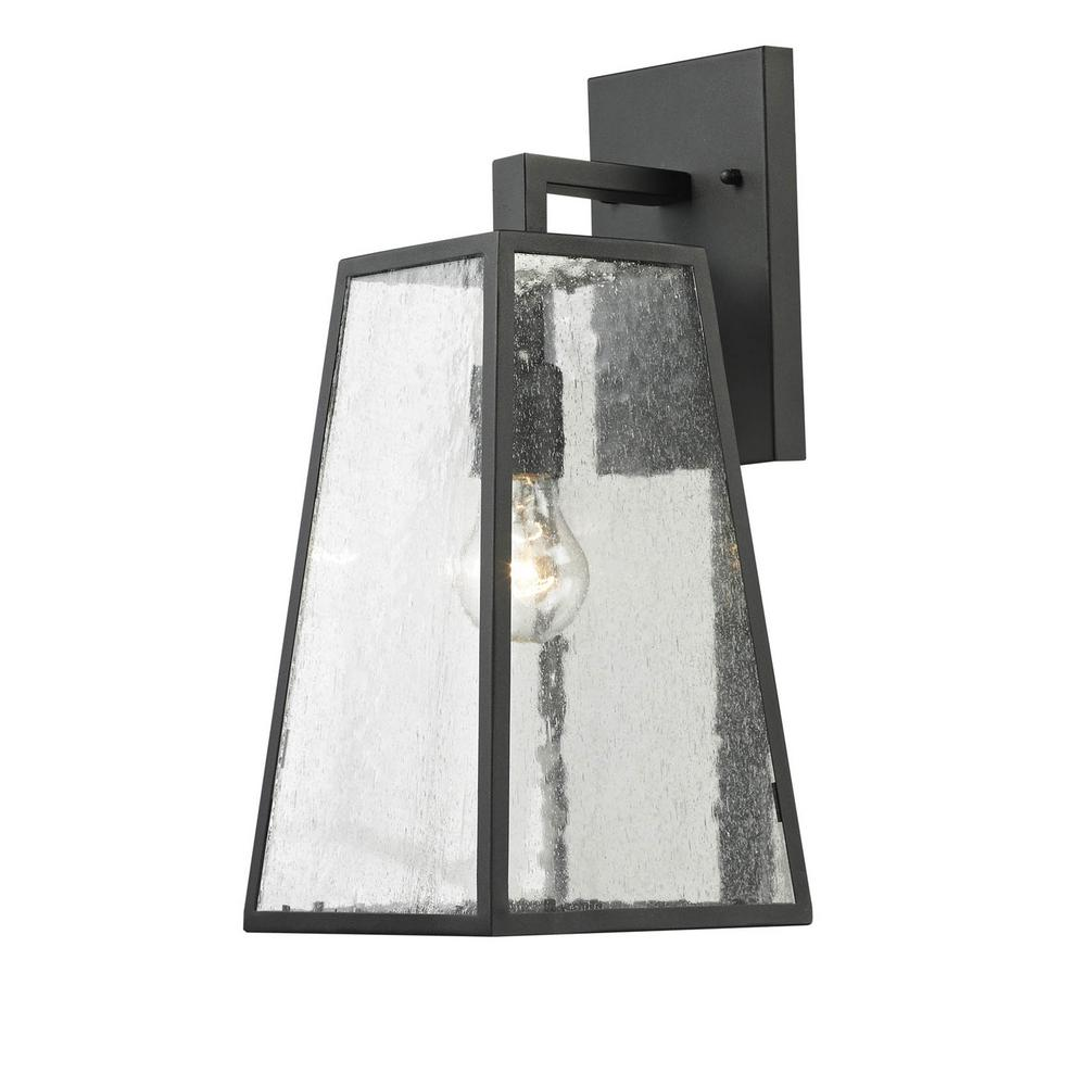 unbranded 1-Light Imperial Black Outdoor Wall Lantern Sconce