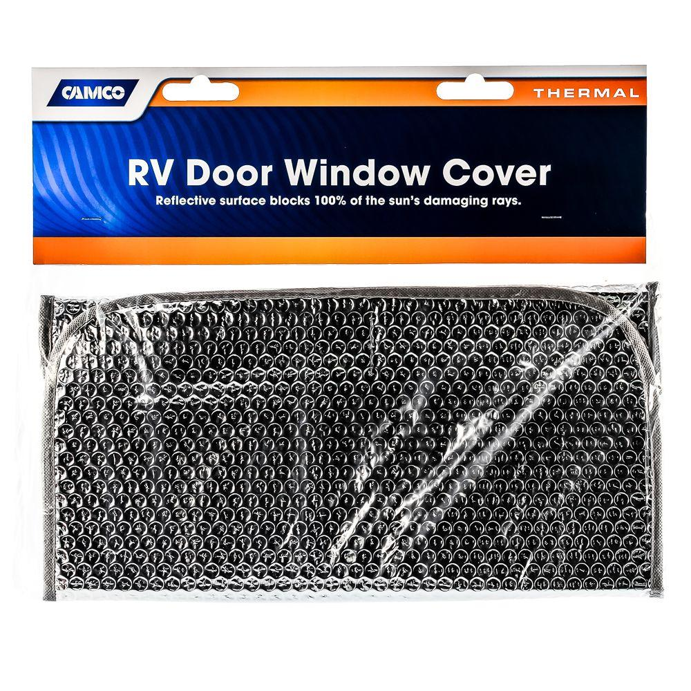 Camco thermal reflective window cover 45167 the home depot for Thermal windows reviews