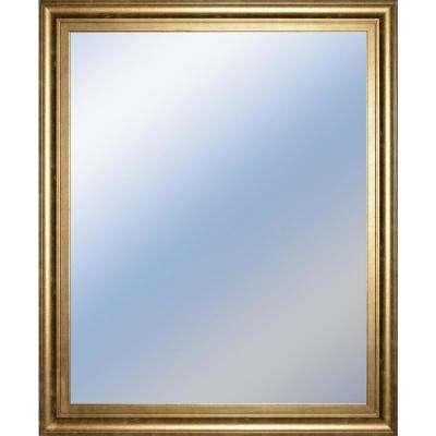"""34 in. x 40 in. DECORATIVE FRAMED WALL """"MIRROR"""""""