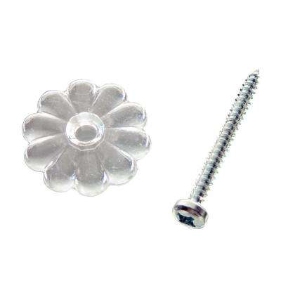 Clear Ceiling/Wall Rosettes (10-Pack)