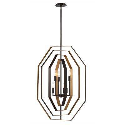 Montcalm 6-Light Oil Rubbed Bronze Chandelier