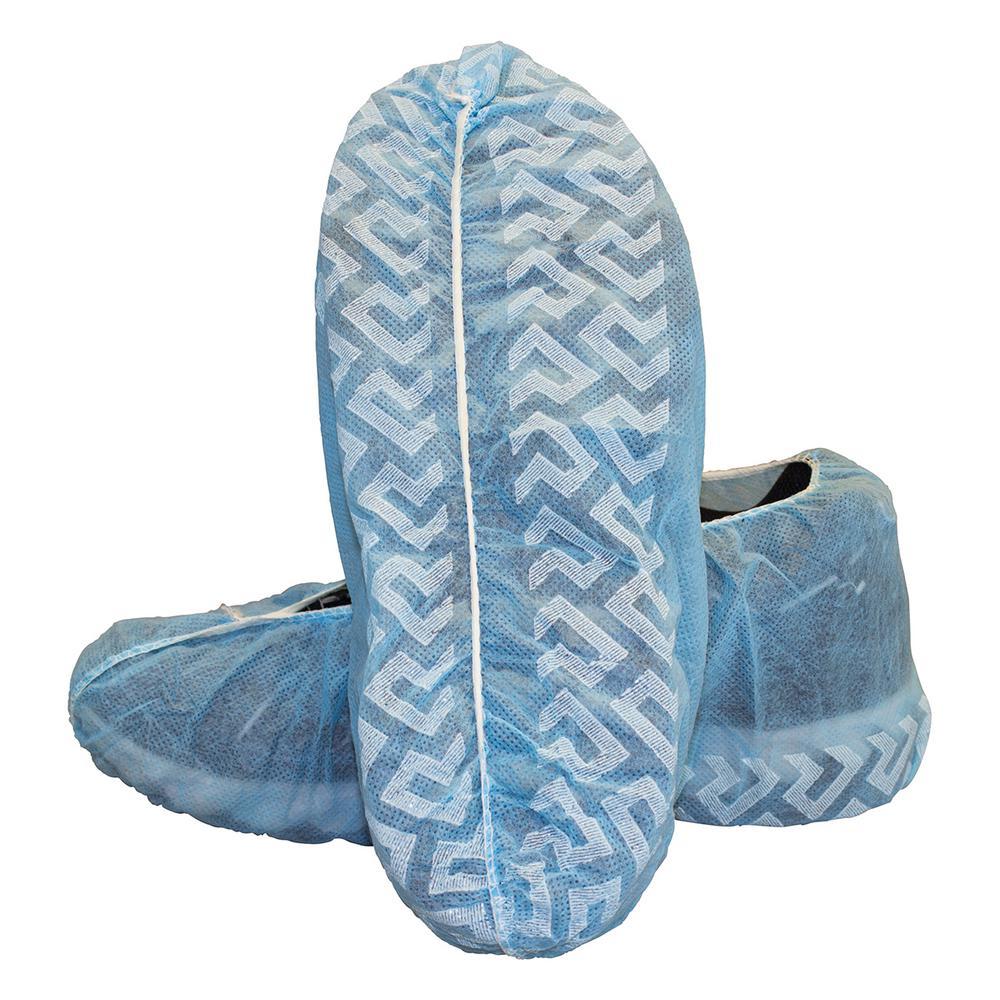 Elastic Blue Polypropylene Shoe Cover (Case of 300)
