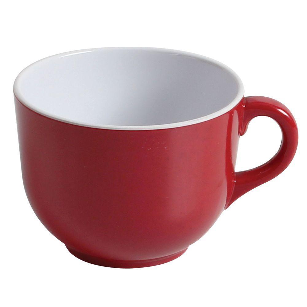 Jazz 23 oz., 4-3/4 in. Mug in Red (1-Piece)
