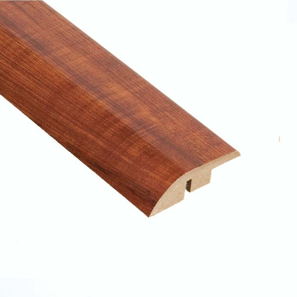 Hampton Bay High Gloss Perry Hickory 12.7 mm Thick x 1-3/4 in. Wide x 94 in. L Laminate Hard Surface Reducer Molding-DISCONTINUED