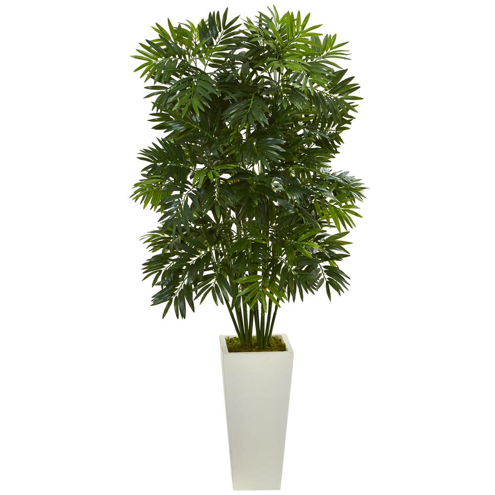 Mini Bamboo Plant : Nearly natural in mini bamboo palm artificial pant