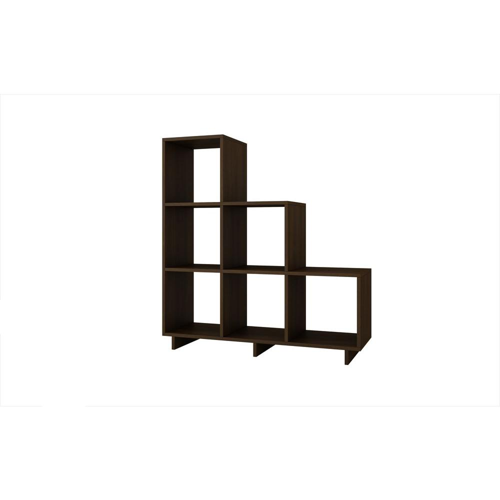 Cascavel 36.22 in. W x 11.41 in. D Sophisticated Tobacco Stair