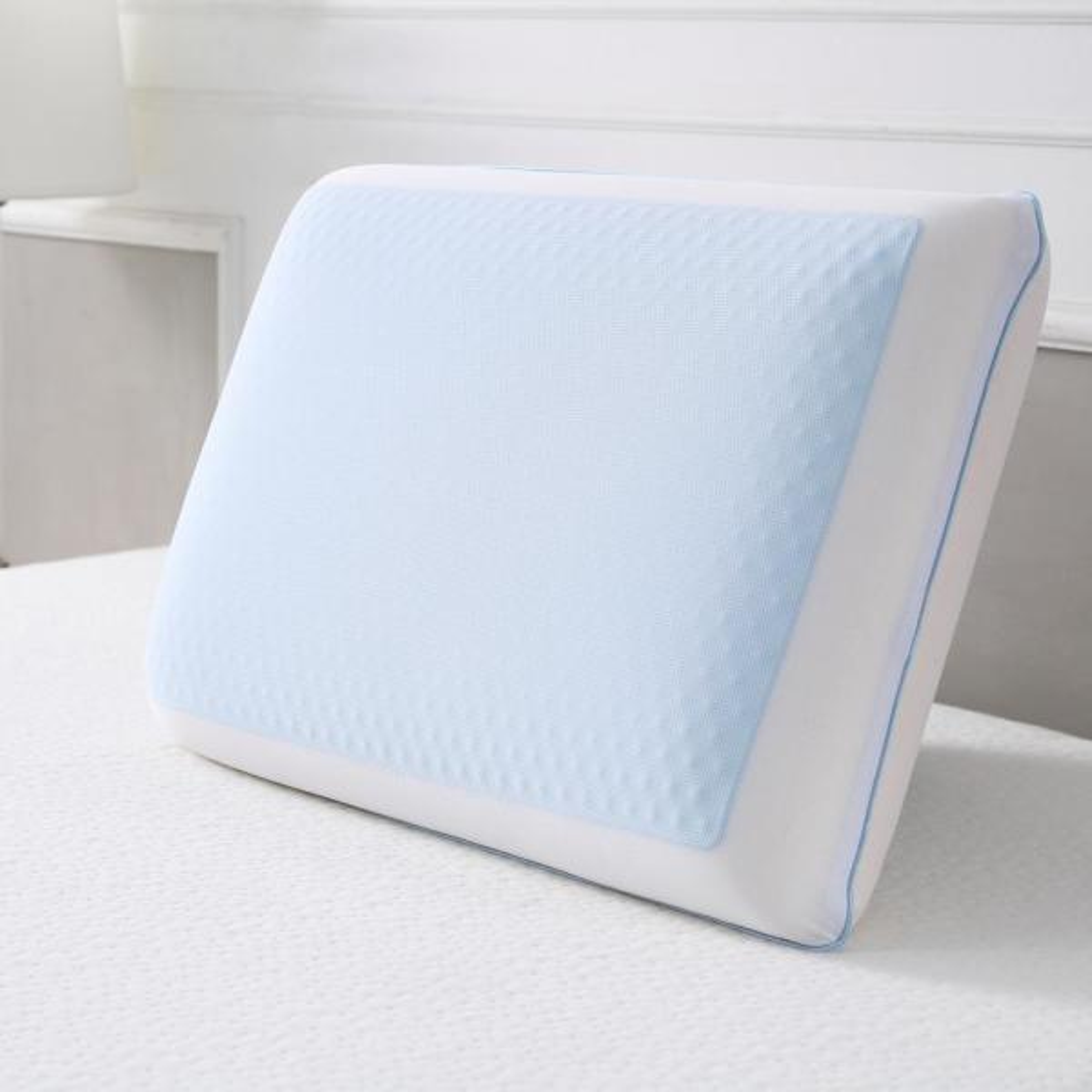 Cool Gel Cool Cooling Gel Memory Foam Standard Pillow 810880 6030 The Home Depot