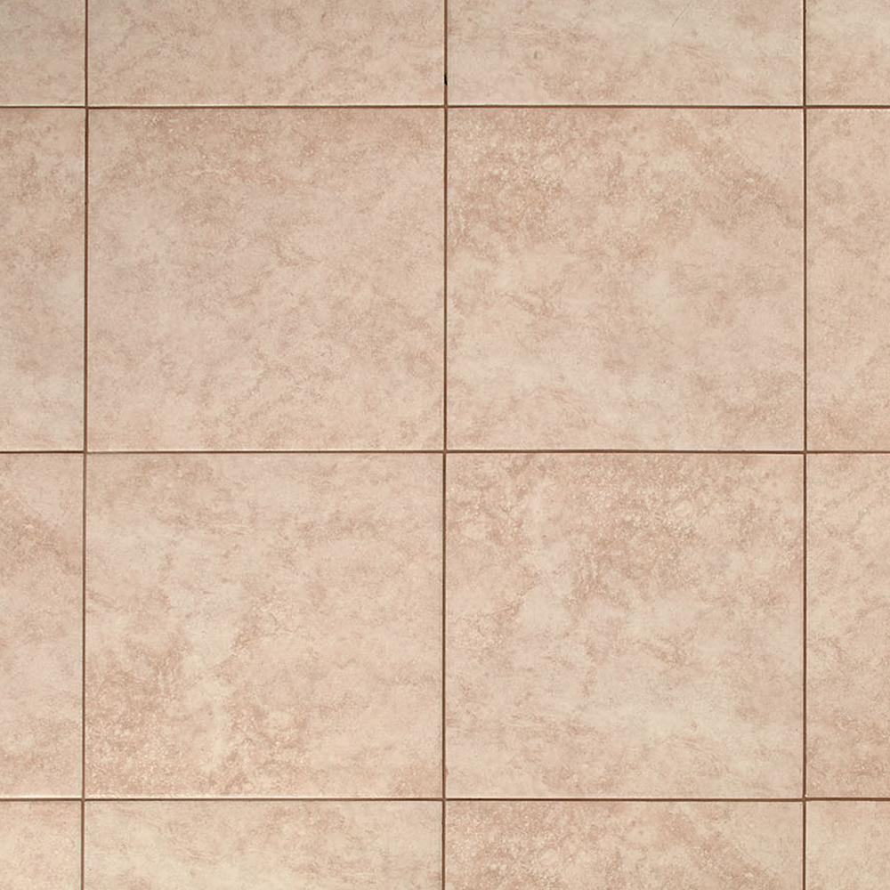 TrafficMASTER Island Sand Beige 16 in. x 16 in. Ceramic Floor and Wall Tile (15.5 sq. ft. / case)