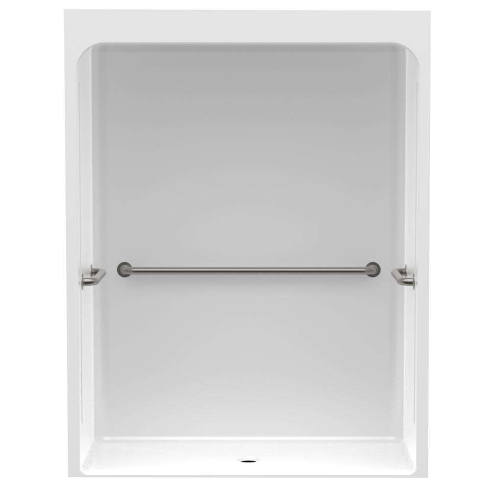 Accessible Smooth Wall Cast Acrylic 60 in. x 36 in. x