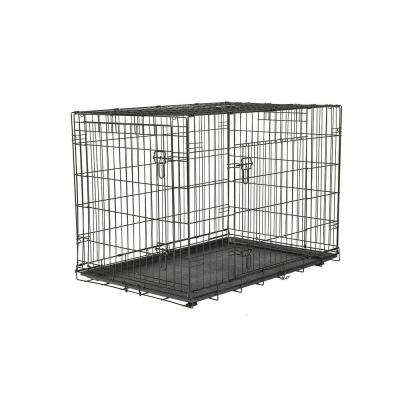 42 in. x 30 in. x 28 in. Large Wire Dog Crate