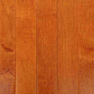 Cinnamon Maple 3/4 in. Thick x 2-1/4 in. Wide x Random Length Solid Hardwood Flooring (20 sq. ft. / case)