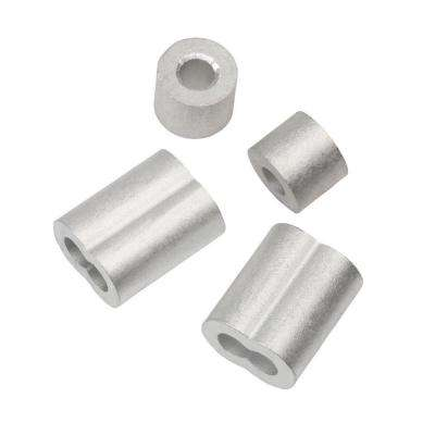 1/8 in. Aluminum Ferrule and Stop Set