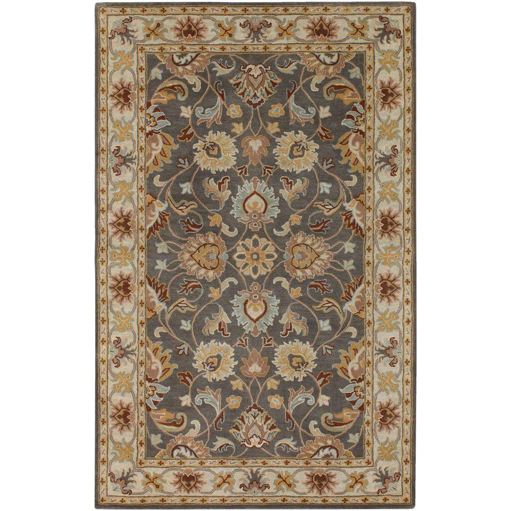John Taupe 6 ft. x 9 ft. Area Rug