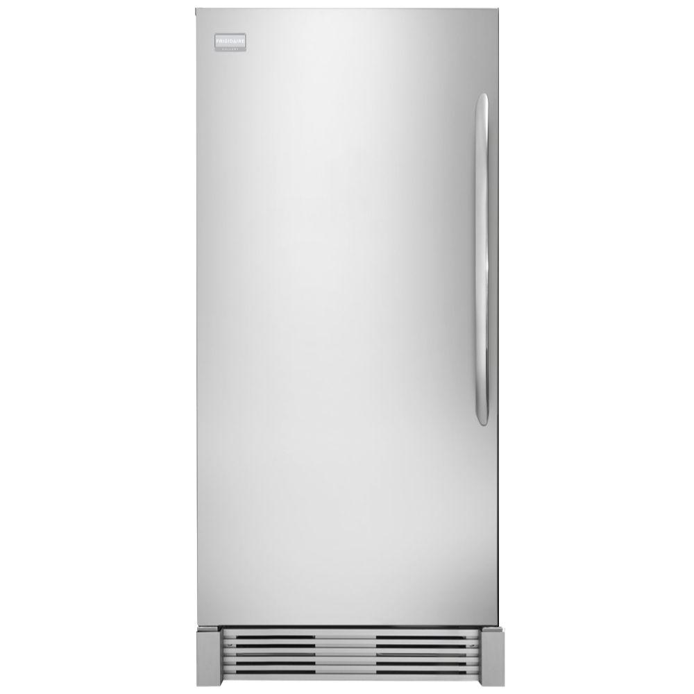 18.6 cu. ft. Upright Freezer in Stainless Steel