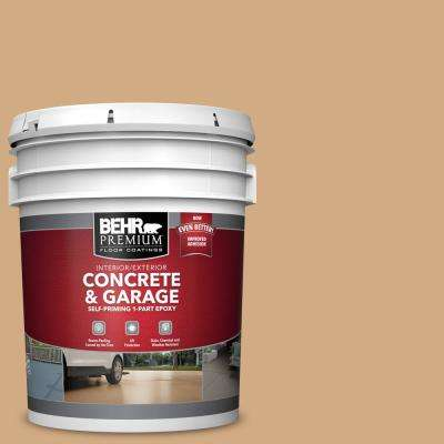 5 gal. #PFC-22 Cold Lager Self-Priming 1-Part Epoxy Satin Interior/Exterior Concrete and Garage Floor Paint