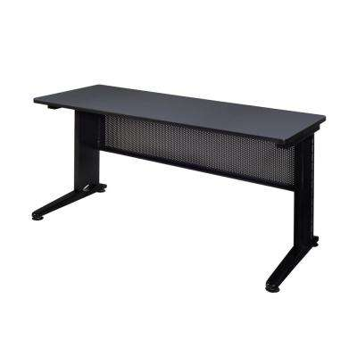Fusion Grey 60 in. W x 24 in. D Training Table