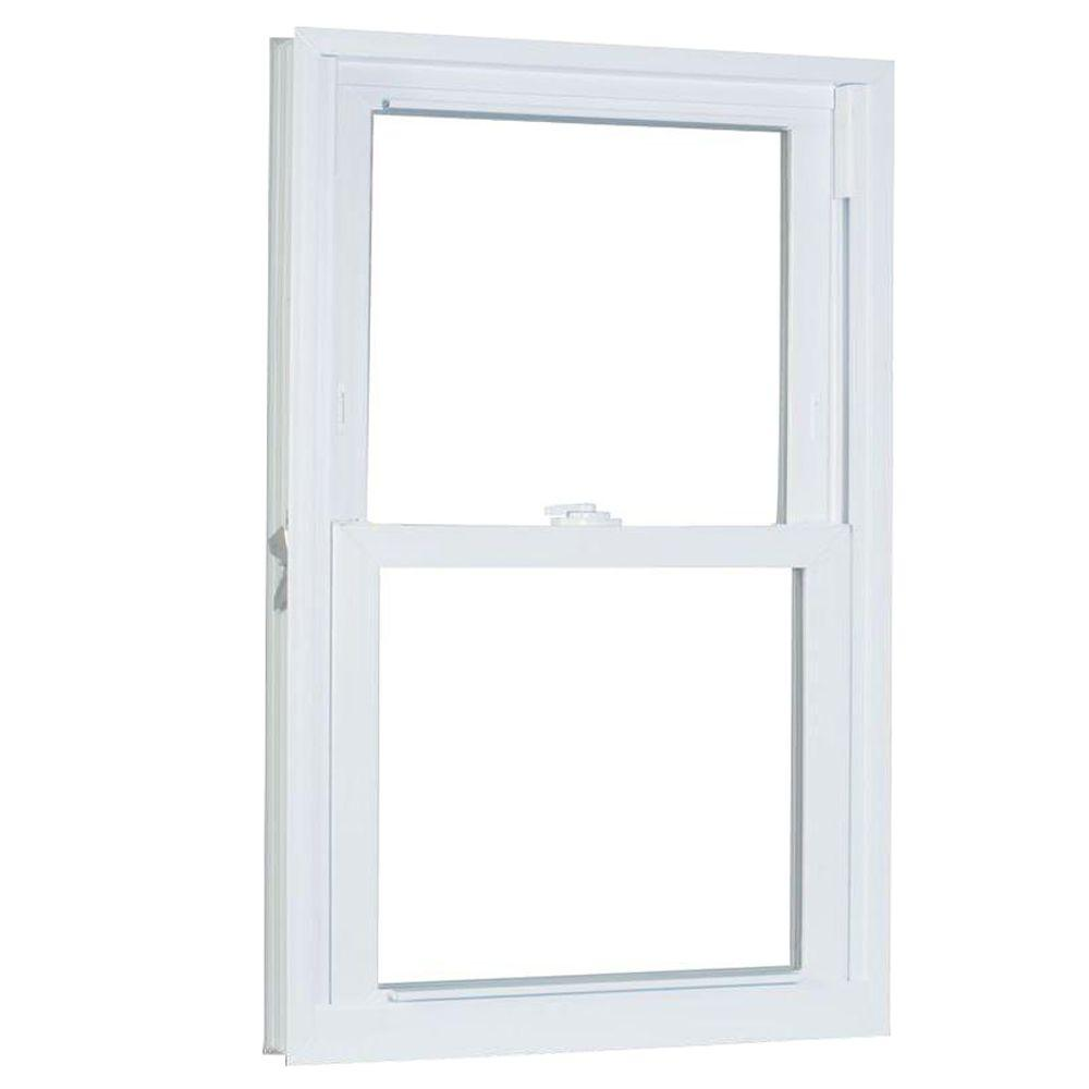 35.75 in. x 49.25 in. 70 Series Pro Double Hung White