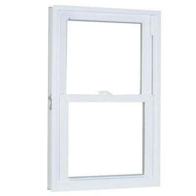 35.75 in. x 49.25 in. 70 Series Pro Double Hung White Vinyl Window with Buck Frame