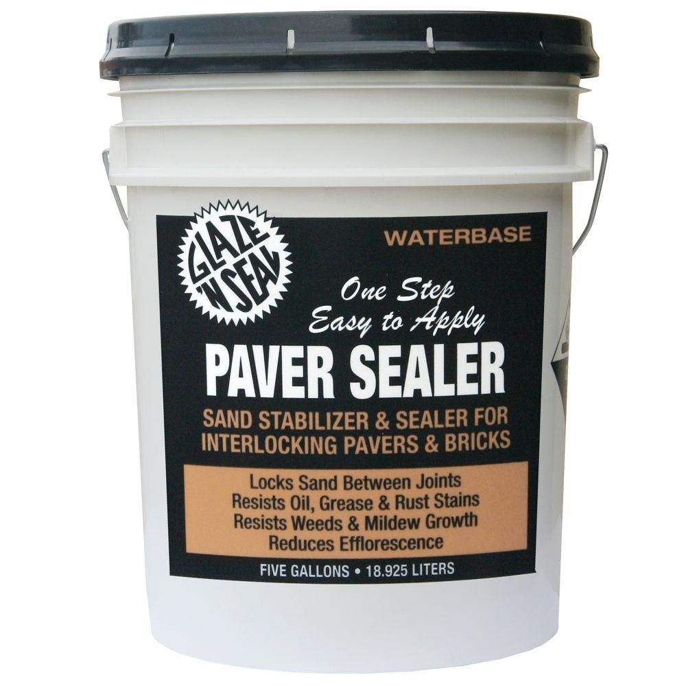 Glaze 'N Seal 5 gal. Clear Paver Sealer and Sand Stabilizer