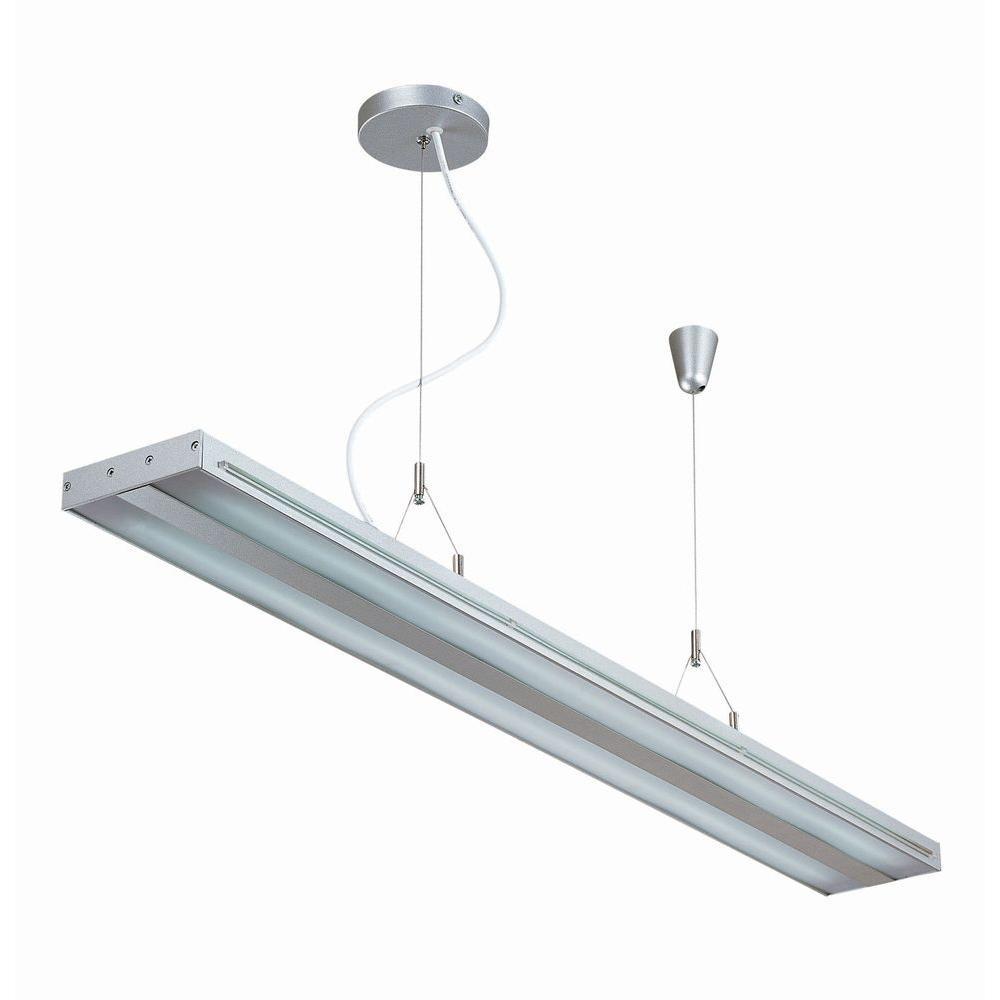 illumine designer collection 2 light clear ceiling light