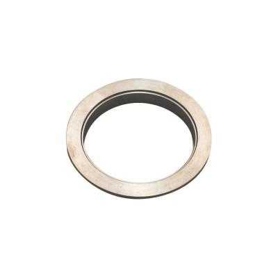 Lido Designs Satin Stainless Steel 3 in  Dia Wall Flange for 1-1/2