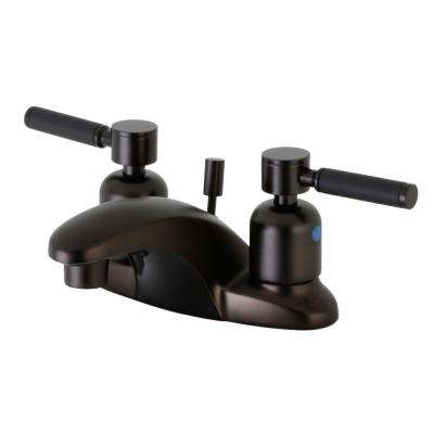 Kaiser 4 in. Centerset 2-Handle Bathroom Faucet in Oil Rubbed Bronze